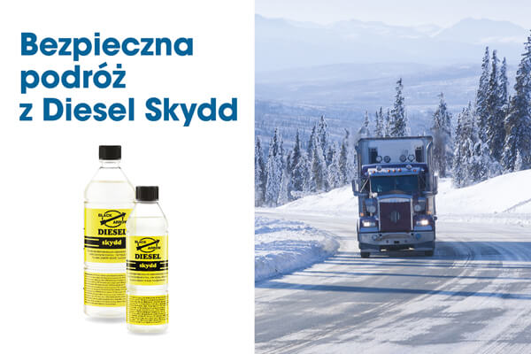 Bezpieczna podróż z Diesel Skydd