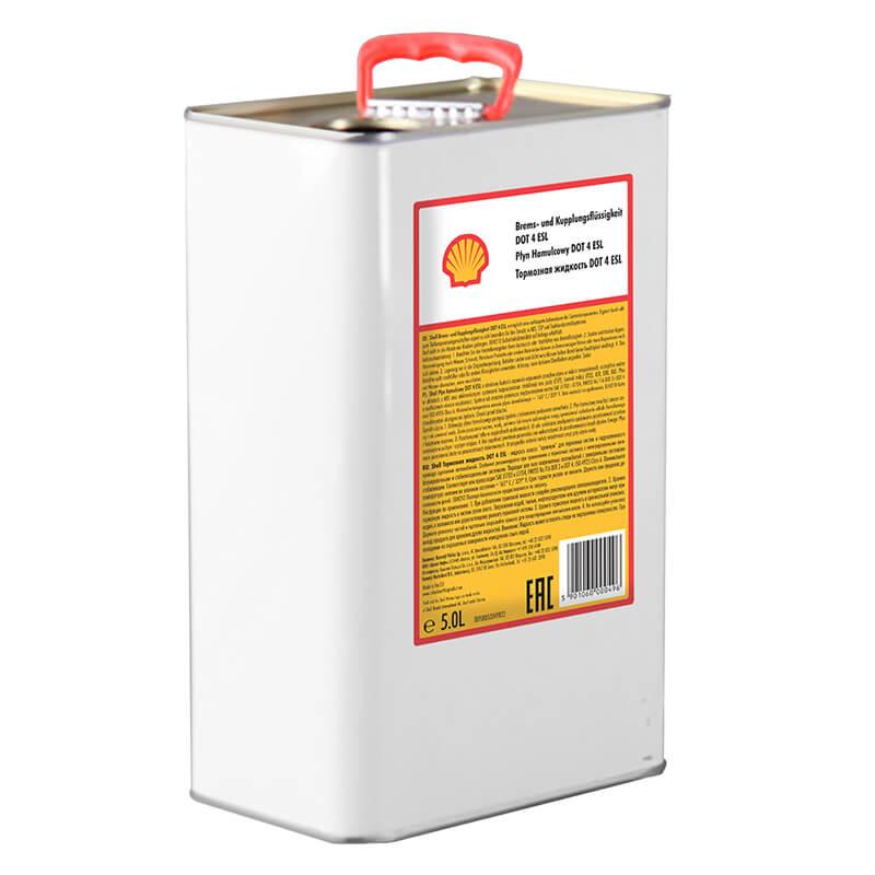 Płyn hamulcowy DOT 4 ESL Shell – 5L