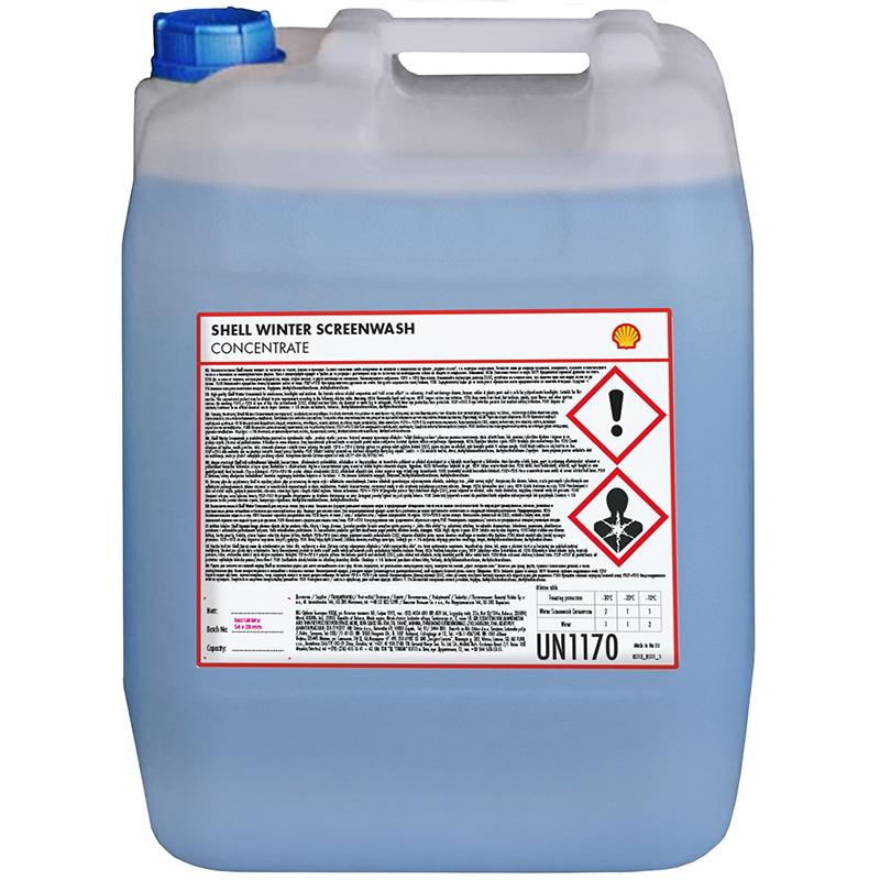 Zimowy płyn dospryskiwaczy Shell – 20L