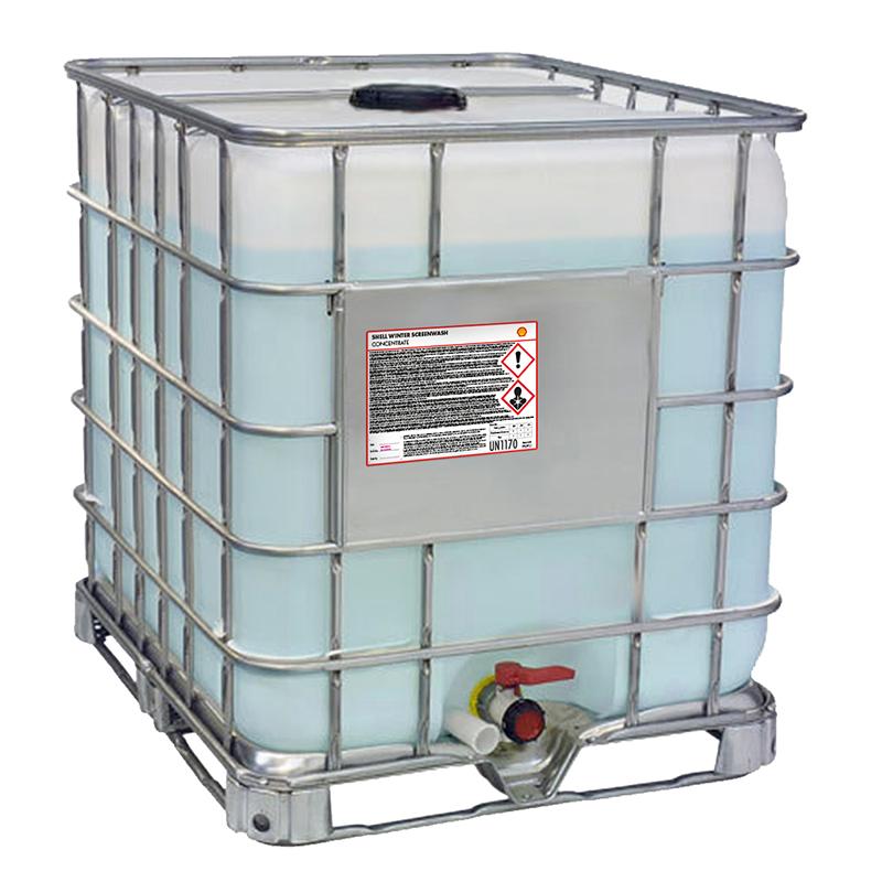 Zimowy płyn dospryskiwaczy Shell – 960L