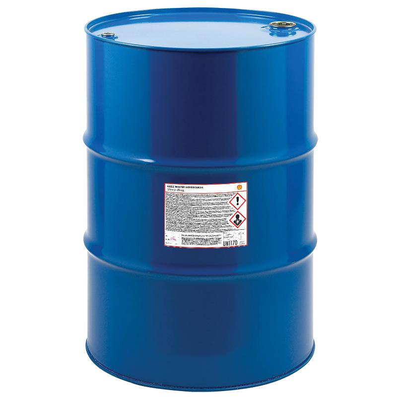 Zimowy płyn dospryskiwaczy Shell – 200L