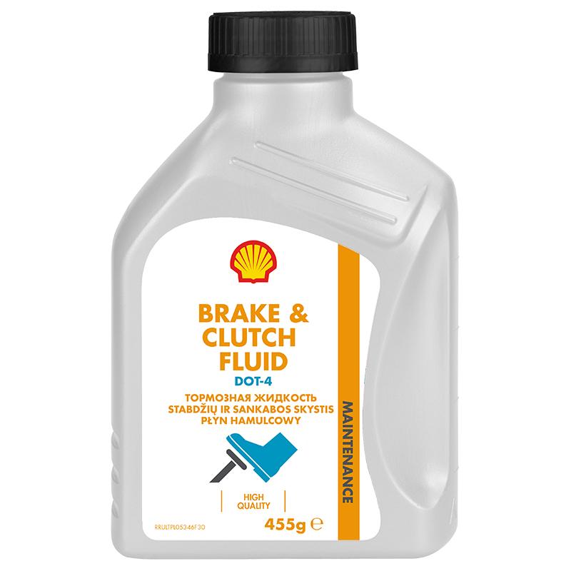 Płyn hamulcowy DOT 4 Shell – 455g