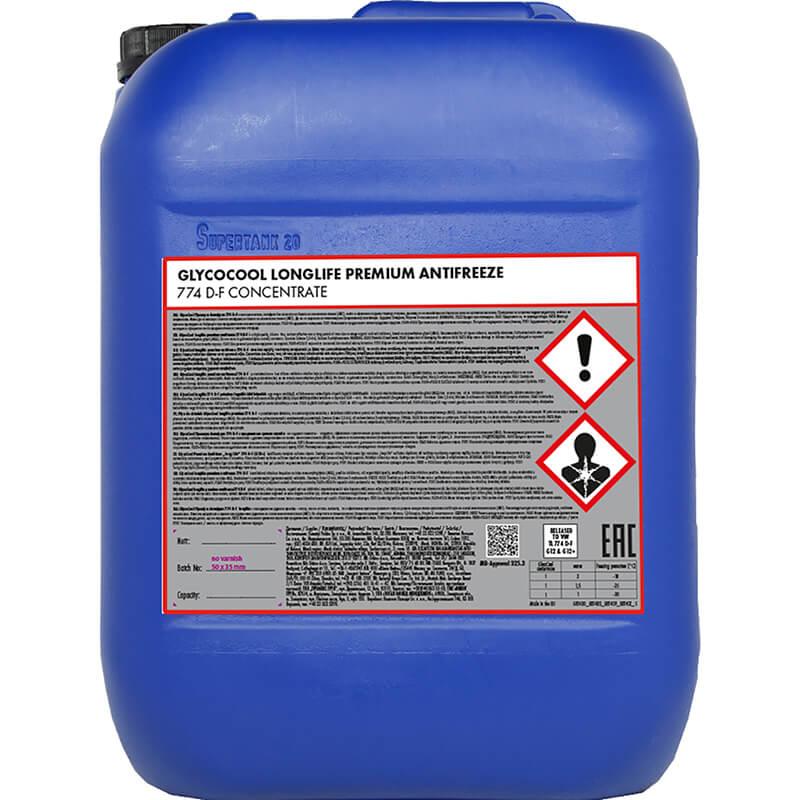Płyn dochłodnic GlycoCool Longlife Premium 774 D-F Kemetyl, typ G12/G12+ – 20L
