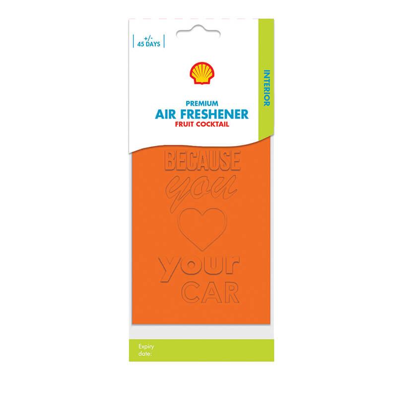 Shell Premium Air Freshener – Fruit Coctail