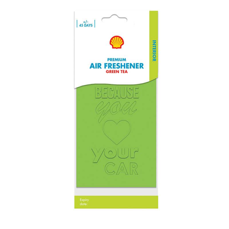 Shell Premium Air Freshener – Green Tea