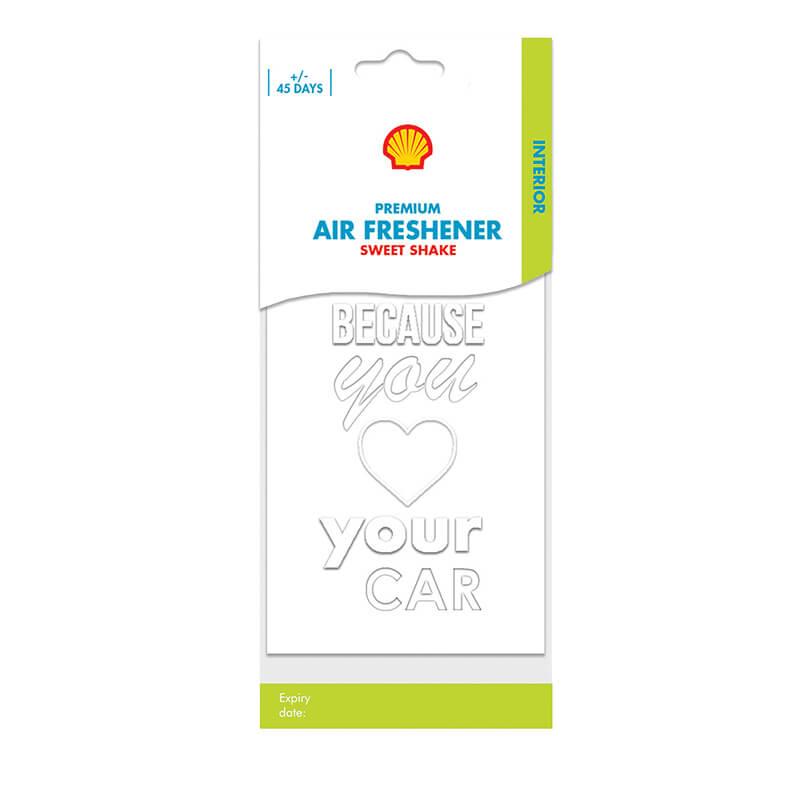 Shell Premium Air Freshener – Sweet Shake
