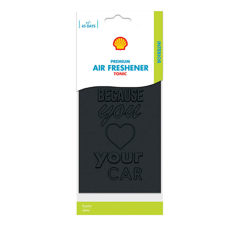 Shell Premium Air Freshener – Freshener Tonic