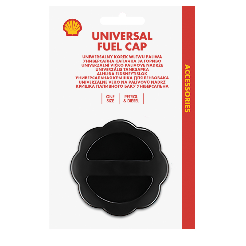 Uniwersalny korek wlewu paliwa Shell