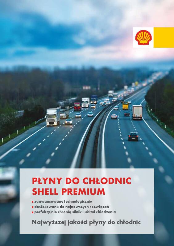 płyny dochłodnic Shell premium -katalog dopobrania