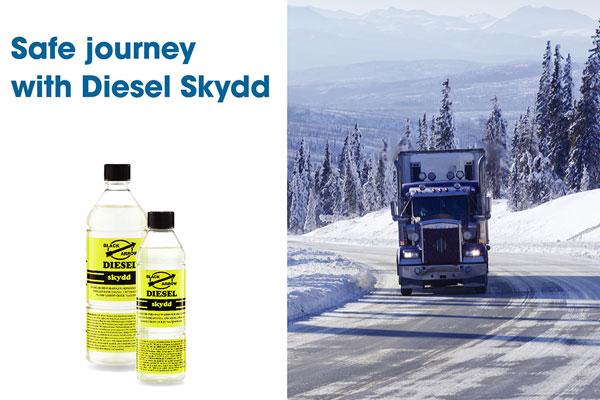 Safe journey with Diesel Skydd